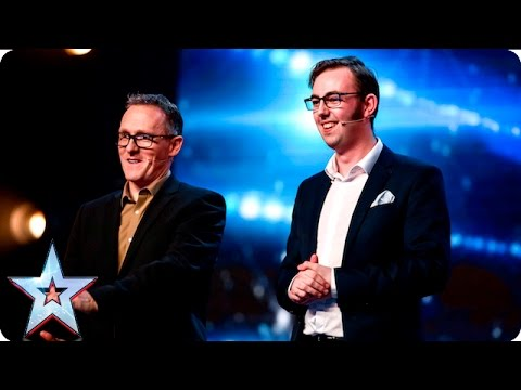 An A-Z of impressions by The Mimic Men  | Auditions Week 5 | Britain's Got Talent 2016