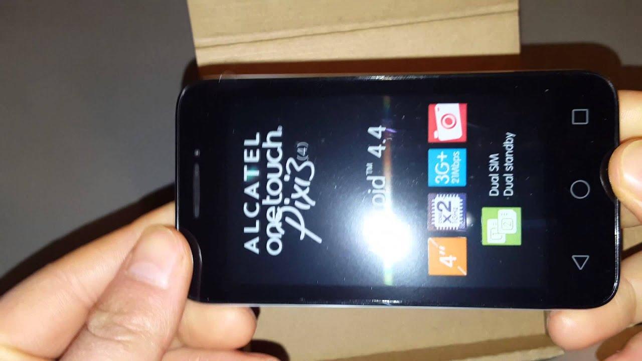 Смартфон Alcatel One Touch PIXI 3 (4.5) 1Gb RAM 4027D Black - цена .