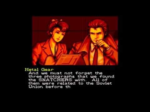 Snatcher (Finale): Plot Dump Commencing!