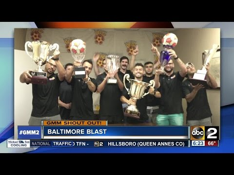 A Good Morning Maryland shout-out from the Baltimore Blast