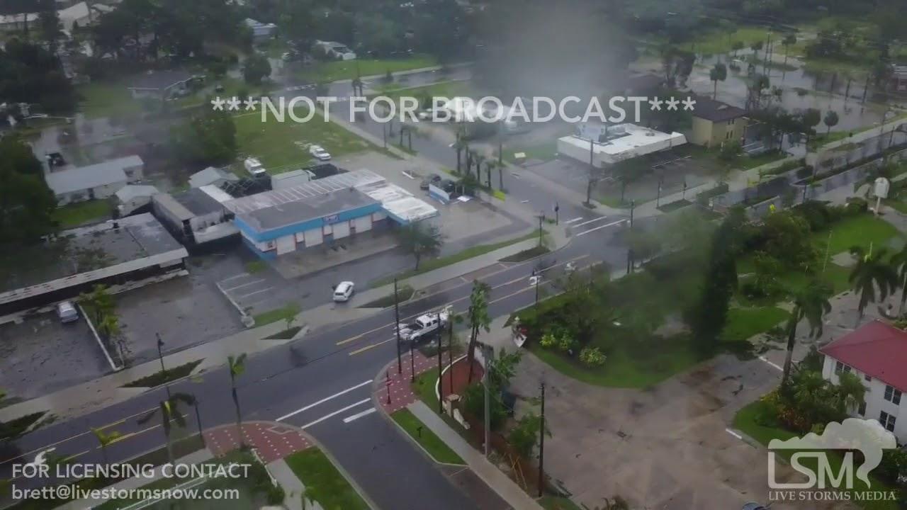 9 11 2017 Bonita Springs Fl Aerial Hurricane Irma