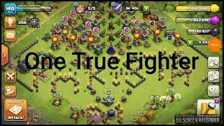 Half air half ground GOBOLALOON LOST!!! 9th 3 star war attack strategy /CLASH OF CLANS !