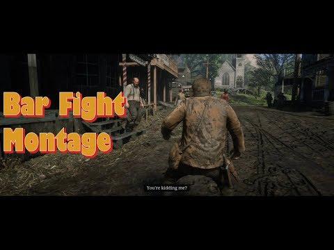 Bar Fight Montage (Red dead Redemption 2)