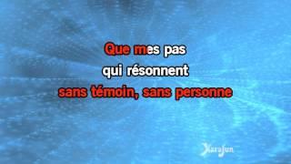 Karaoké Je marche seul - Jean-Jacques Goldman *