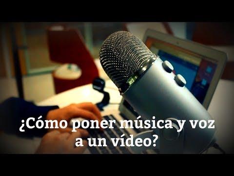 ¿Cómo poner música y voz a un vídeo? Tutorial Filmora