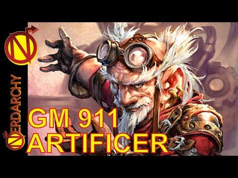 Artificer Mechanical Servant Mayhem! in this DM's Game of D&D- GM 911