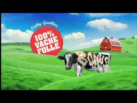 Cathy Gauthier - 100 % Vache Folle - DVD preview - Conception Codebar Media Montreal
