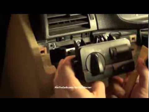 bmw 3 series e46 light switch module removal and installation youtube rh youtube com