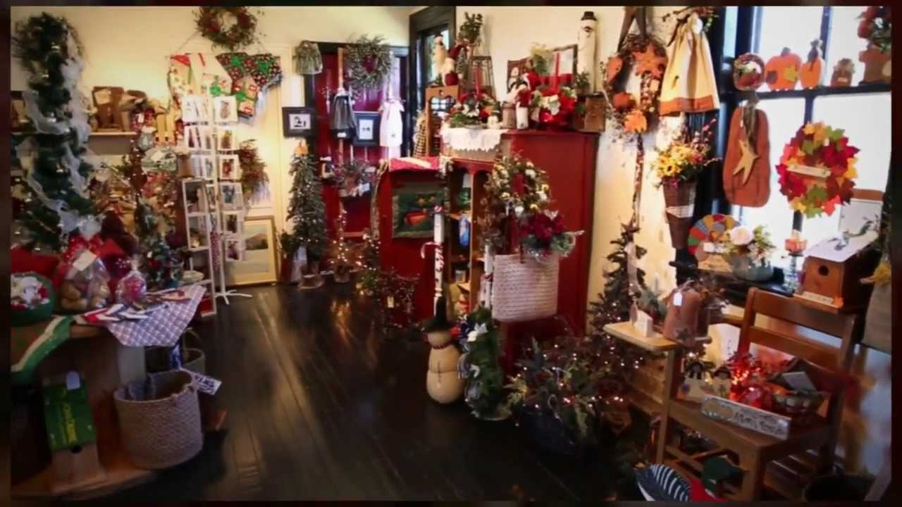Holiday craft boutique youtube for Holiday boutique