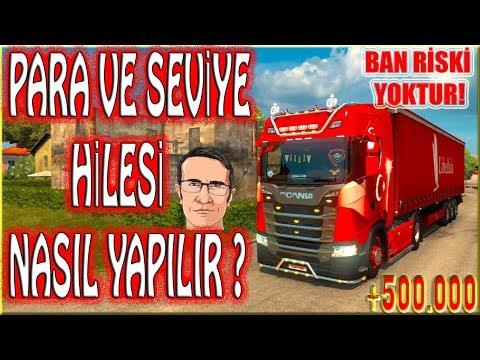 ETS 2 PARA VE SEVİYE HİLESİ NASIL YAPILIR?EN DETAYLI ANLATIM !!