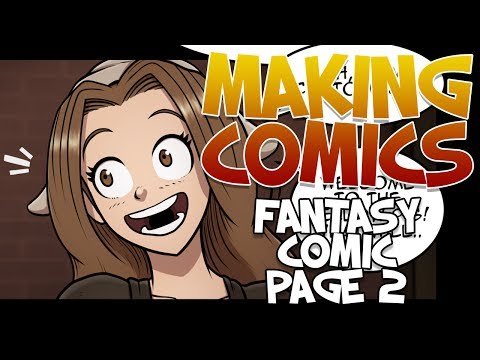 Making Comics - Fantasy Comic Page 2