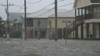 Tropical Storm Barry inundates the Gulf Coast