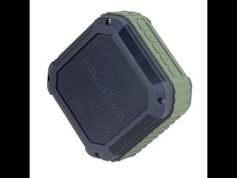 Infinilla S3 Waterproof Wireless Bluetooth Portable Speaker for Outdoor Green