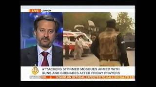 Al Jazeera Ahmadiyya Mosques Attack Lahore Interview with Fareed Ahmad
