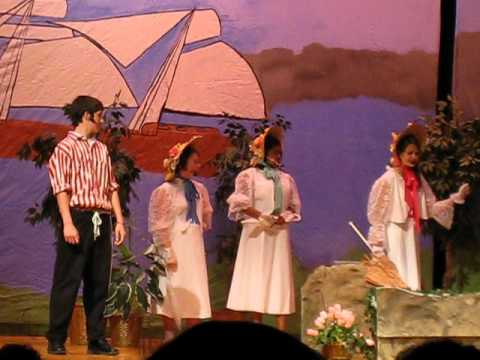 Brandywine Springs School - Pirates of Penzance - Frederic and Daughters
