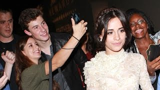 Shawn Mendes And Camila Cabello Step Out For First Time Together At Post VMA Parties