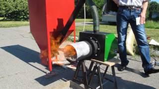 Работа пеллетной горелки GEMBO. Купить горелку GEMBO в Днепре/(, 2017-02-21T13:13:07.000Z)