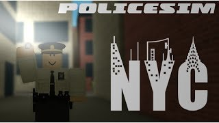 POLICE SIM: NYC | So Many Weird Calls! | ROBLOX