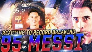 REACTING TO 95 RECORD BREAKING MESSI