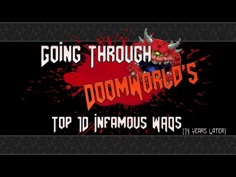 Going Through Doomworld's Top Ten Infamous WADs (14 Years Later)