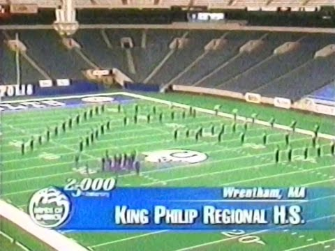2000 - King Philip Marching Band Grand National Championships