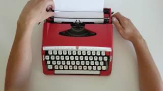 Tony's Typewriters - Brother De Luxe