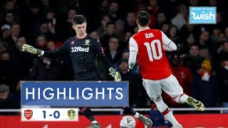 Download Highlights | Arsenal 1-0  Leeds United | Emirates FA Cup 3rd Round