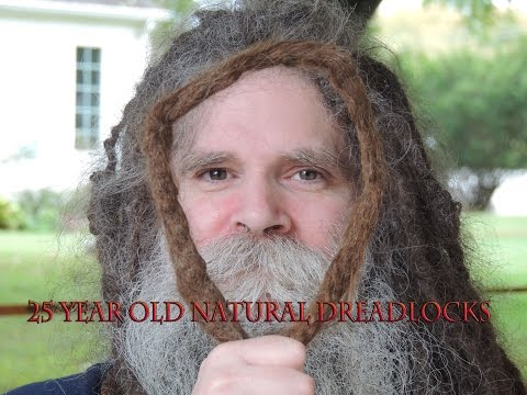 25 years old natural dreadlocks 10 foot long dreads