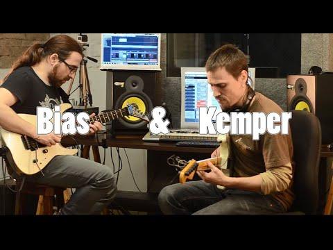 Bias Positive Grid meets Kemper profiling amp at Funkies