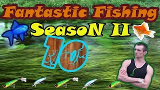 Fantastic Fishing Season II Серия 10 Квест на 100.000 опыта и кредитов