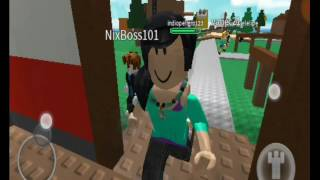 PLAYING ROBLOX - COM MINHA NAMORADA - MY FIRST PURCHASE ON PSP