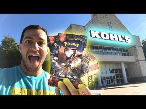 POKEMON CARDS AT KOHLS?!