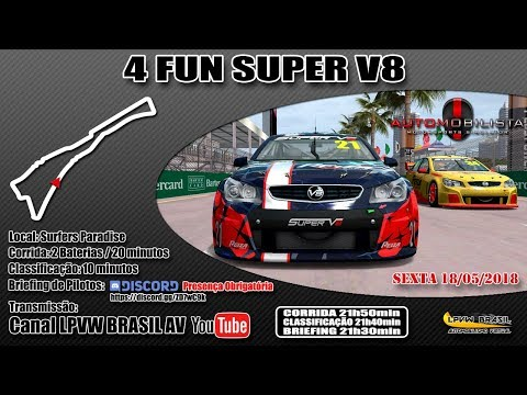 4FUN Super V8 – AMS – Surfers Paradise-AUS