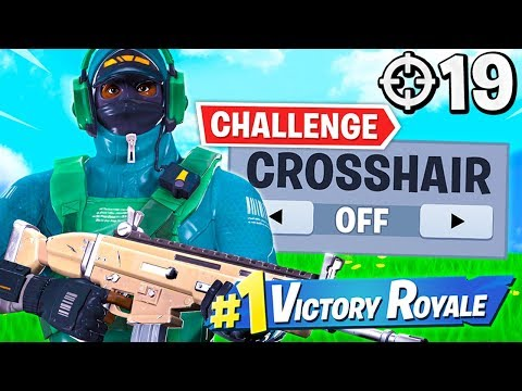 WINNING Without Crosshair Challenge! (19 Elims)