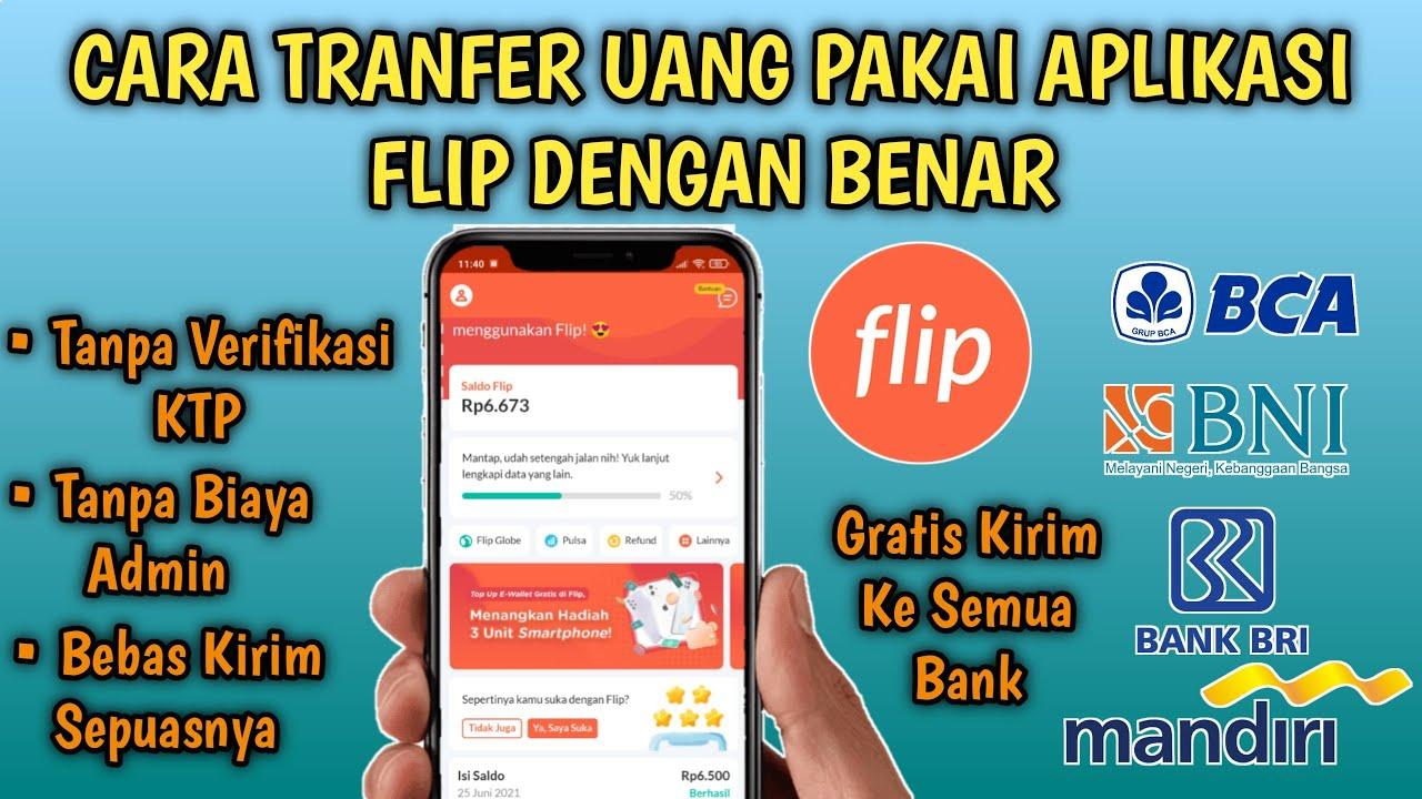 Download Cara Kirim Uang Menggunakan Aplikasi FLIP Dengan Benar