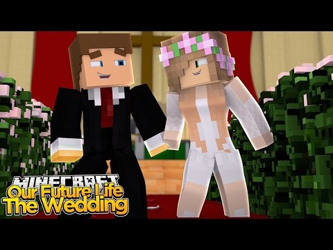 Minecraft Our Future Life : LITTLE KELLY &  LITTLE DONNY GET MARRIED! (Roleplay)