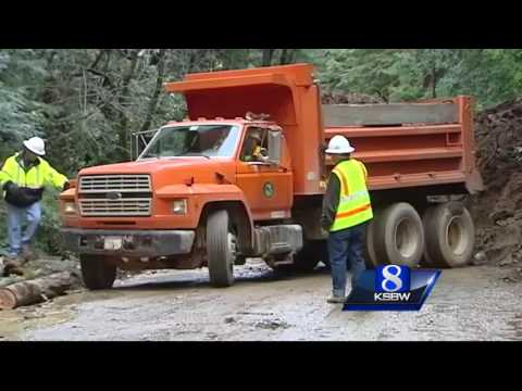 Some Santa Cruz mountain roads still closed after storm