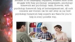 do my psychology homework