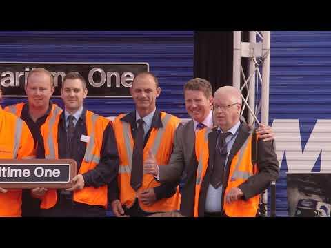 GB Railfreight Maritime Train Naming Event