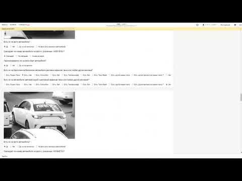Проверка брендирования на автомобилях 1.1 - Ответы (Яндекс Толока)