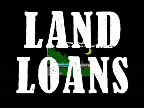 Land home loan youtube for Land home mortgage