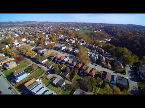 Yuneec Q500 Drone Footage of Homestead, PA
