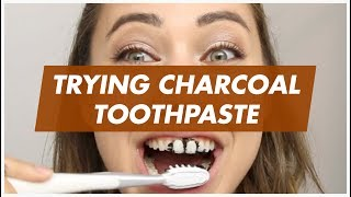 TRYING CHARCOAL TOOTHPASTE (feat. Cammie Scott)