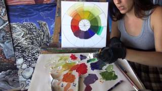 Introduction to Mixing Colors using Oil Paints