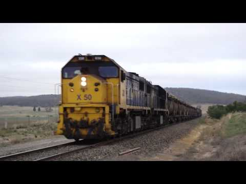 Canberra Oil Train arrives Tarago