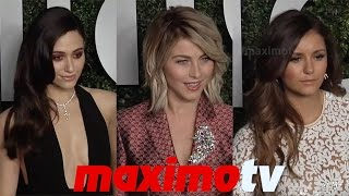 "Nina Dobrev, Julianne Hough, Emmy Rossum ""Young Hollywood"" Book Launch"
