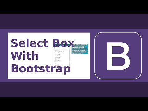 Custom Select (Search, Removable, Multiple) With Bootstrap 4