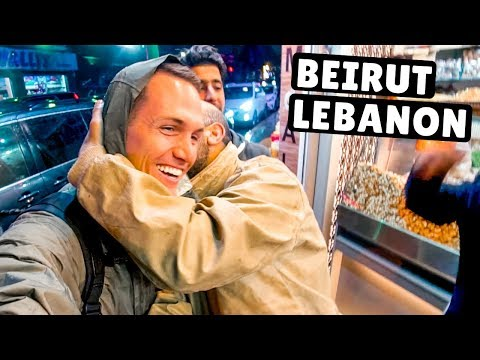War in Beirut & THIS Restaurant Stayed Open! Lebanon Travel Vlog