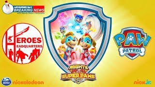 Heroes HQ - PAW Patrol Mighty Pups Super Paws: Meet the Mighty Twins! - New Pups for PAW Patrol