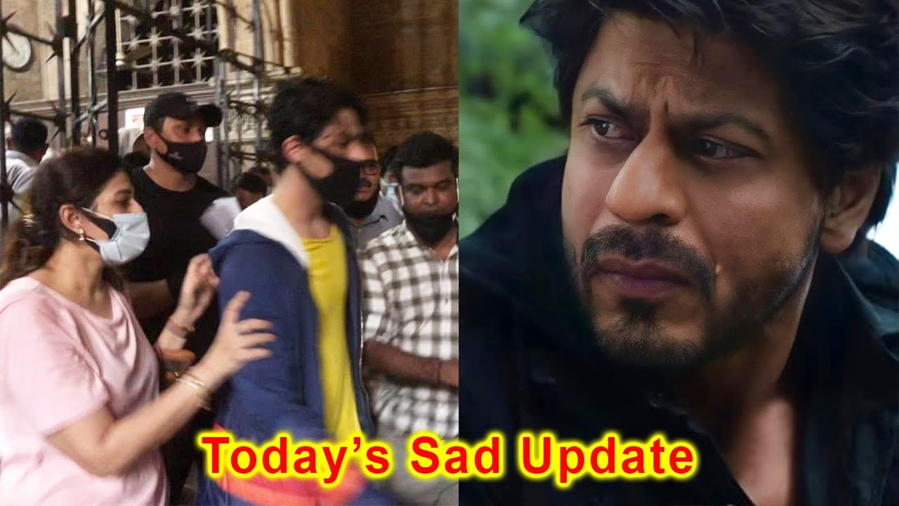 Download Shahrukh Khan Son Aryan Khan Case Today's sad and Shocking Update From NCB Court